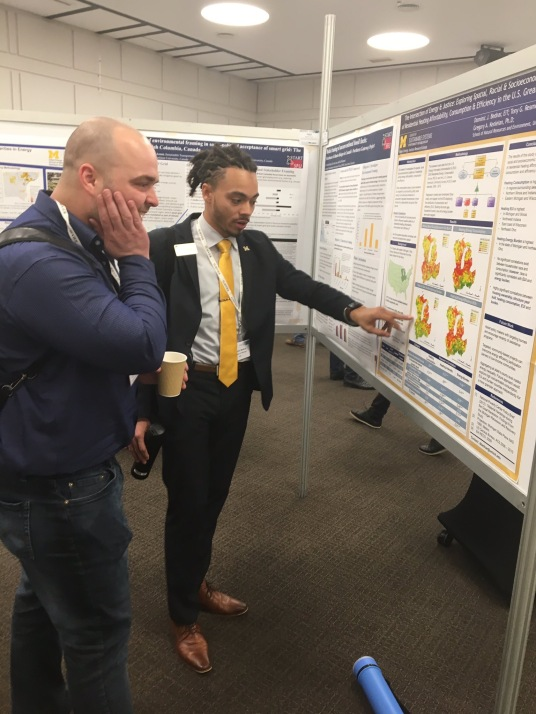 Dominic shares his research