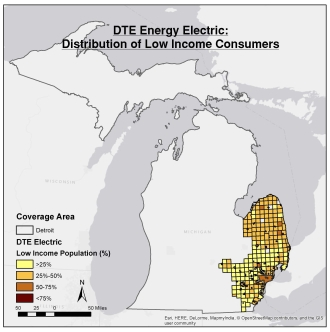 DTE Electric map